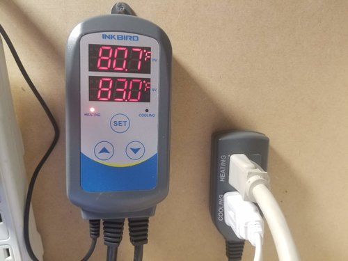 Temperature Controller for Heating Mats